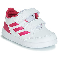 Shoes Girl Low top trainers adidas Performance ALTASPORT CF I White / Pink