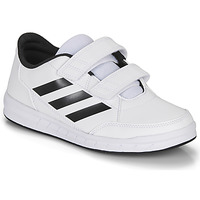 Shoes Children Low top trainers adidas Performance ALTASPORT CF K White / Black