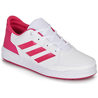 Shoes Girl Low top trainers adidas Performance ALTASPORT K White / Pink