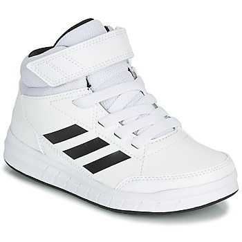 Shoes Children Hi top trainers adidas Performance ALTASPORT MID K White / Black
