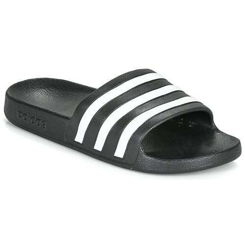 Shoes Sliders adidas Performance ADILETTE AQUA Black / White