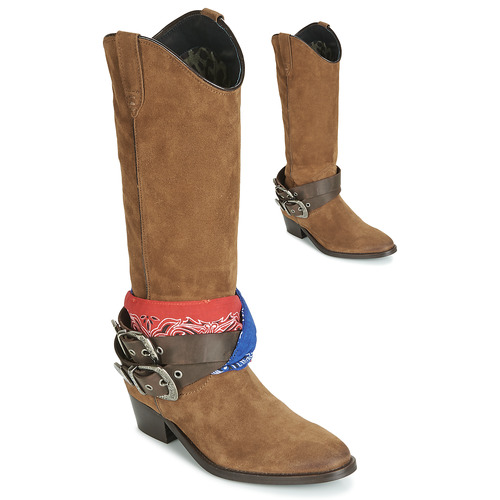 Shoes Women High boots Replay FRUITLAND Camel