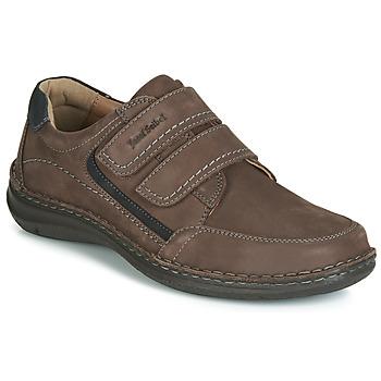 Shoes Men Derby Shoes Josef Seibel ANVERS 90 Brown