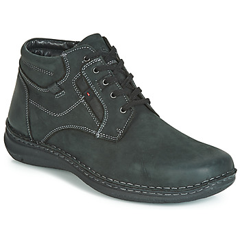 Shoes Men Mid boots Josef Seibel ANVERS 35 Black