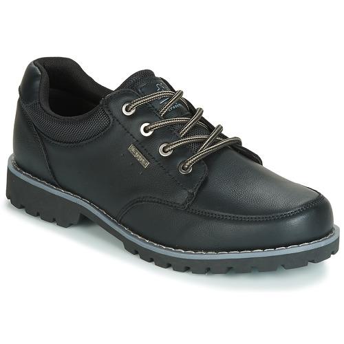Shoes Men Low top trainers Kappa NAGOA Black