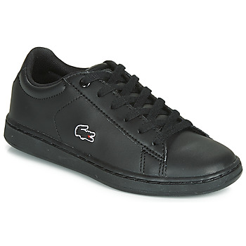 Shoes Children Low top trainers Lacoste CARNABY EVO BL 3 SUC Black