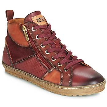 Shoes Women Hi top trainers Pikolinos LAGOS 901 Bordeau