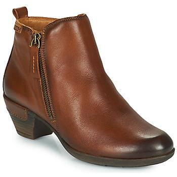 Shoes Women Ankle boots Pikolinos ROTTERDAM 902 Cognac