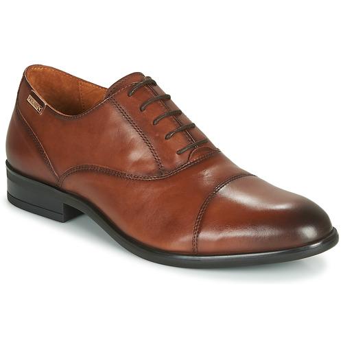 Shoes Men Brogues Pikolinos BRISTOL M7J Brown
