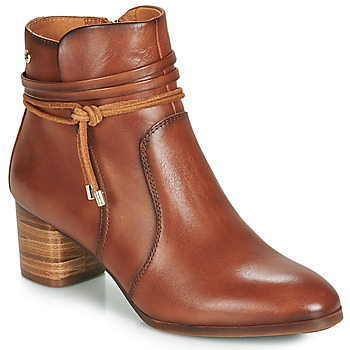 Shoes Women Ankle boots Pikolinos CALAFAT W1Z Brown