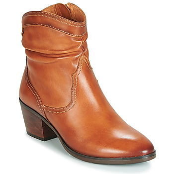 Shoes Women Ankle boots Pikolinos HUELMA W2Z Brown