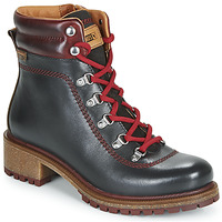 Shoes Women Mid boots Pikolinos ASPE W9Z Black