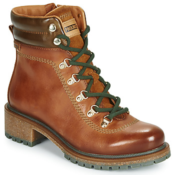 Shoes Women Mid boots Pikolinos ASPE W9Z Brown