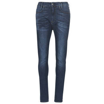 Clothing Women Slim jeans G-Star Raw D-STAQ MID BOY SLIM Blue / Faded / Medium / Aged