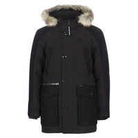 Clothing Men Parkas G-Star Raw VODAN PADDED HDD PM PARKA Black