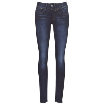 Clothing Women Skinny jeans G-Star Raw LYNN MID SKINNY WMN Blue / Faded / Blue