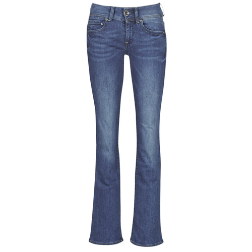 Clothing Women bootcut jeans G-Star Raw MIDGE MID BOOTCUT WMN Blue / Faded / Blue