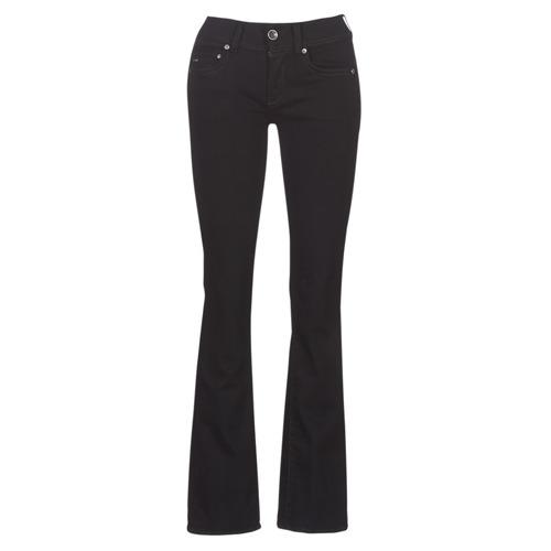 Clothing Women bootcut jeans G-Star Raw MIDGE MID BOOTCUT WMN Black