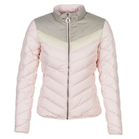Clothing Women Duffel coats G-Star Raw ALASKA PDD DOWN JKT WMN Pink / Beige