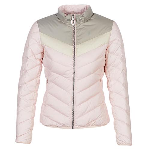 Clothing Women Duffel coats G-Star Raw ALASKA PDD DOWN JKT WMN Pink / Beige