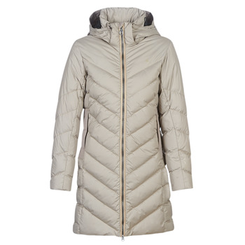 Clothing Women Duffel coats G-Star Raw WHISTLER SLIM DOWN HDD LONG COAT WMN Beige