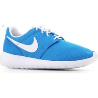 Shoes Women Low top trainers Nike Roshe One (GS) 599728 422 blue