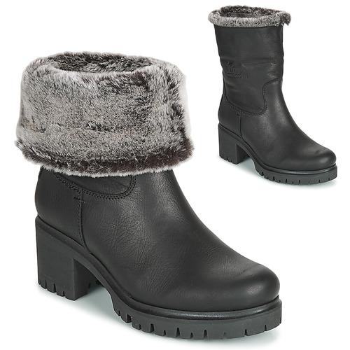 Shoes Women Ankle boots Panama Jack PIOLA Black