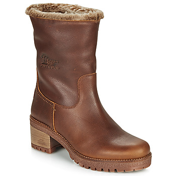 Shoes Women Mid boots Panama Jack PIOLA Brown