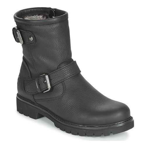 Shoes Women Mid boots Panama Jack FELINA Black