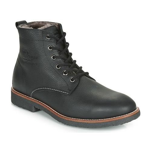 Shoes Men Mid boots Panama Jack GLASGOW Black