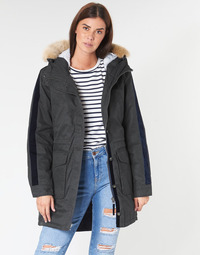 Clothing Women Parkas Rip Curl RACER PARKA JACKET Black