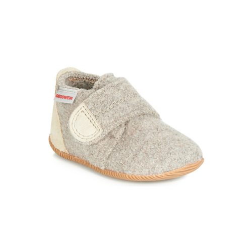 Shoes Children Slippers Giesswein OBERSTAUFFEN Beige