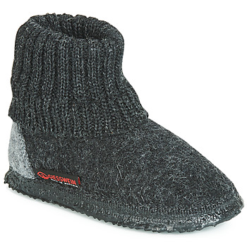 Shoes Men Slippers Giesswein KRAMSACH Anthracite