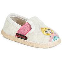 Shoes Girl Slippers Giesswein THURNAU Beige