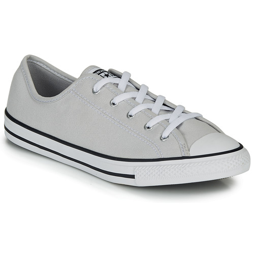Shoes Women Low top trainers Converse CHUCK TAYLOR ALL STAR DAINTY GS  CANVAS OX Grey