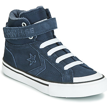Shoes Children Hi top trainers Converse PRO BLAZE STRAP SPACE RIDE SUEDE HI Blue