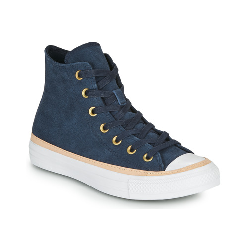 Shoes Women Hi top trainers Converse CHUCK TAYLOR ALL STAR VACHETTA LEATHER HI Marine