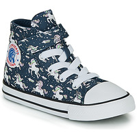 Shoes Girl Hi top trainers Converse CHUCK TAYLOR ALL STAR 1V UNICONS HI Blue