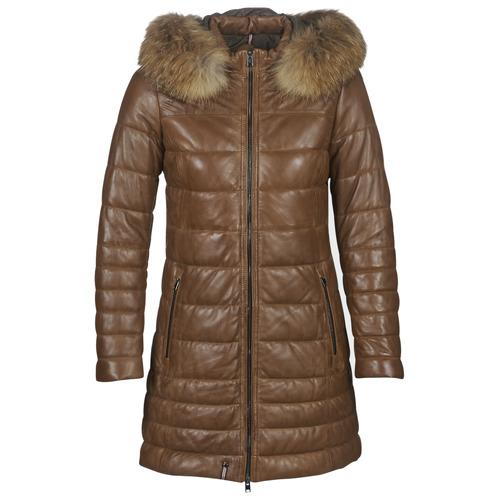Clothing Women Duffel coats Oakwood MARY Cognac