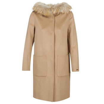 Clothing Women coats Oakwood YALE BI Camel / Grey