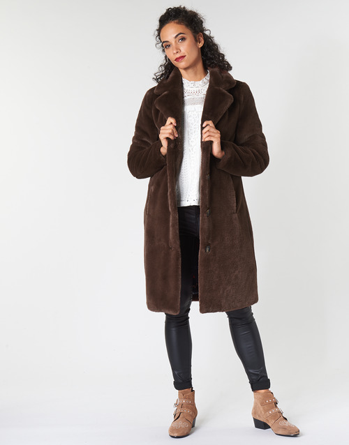 Clothing Women Coats Oakwood CYBER Brown