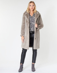 Clothing Women coats Oakwood CYBER Dark / Beige