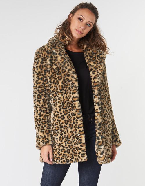 Clothing Women coats Oakwood USER Leopard