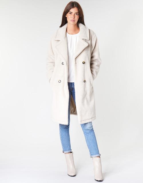 Clothing Women coats Oakwood AMAZING Beige