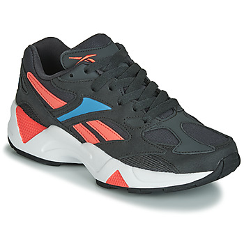 Shoes Women Low top trainers Reebok Classic AZTREK 96 Black / Coral