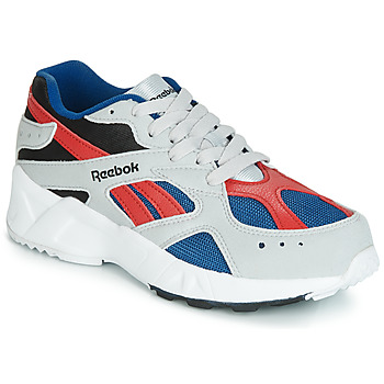 Shoes Boy Low top trainers Reebok Classic AZTREK J Grey / Red
