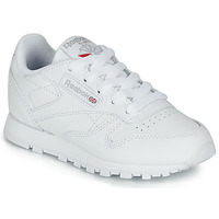 Shoes Children Low top trainers Reebok Classic CLASSIC LEATHER C White