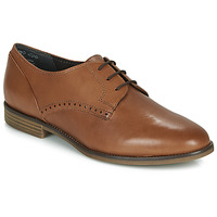 Shoes Women Derby Shoes Tamaris LYNA Cognac