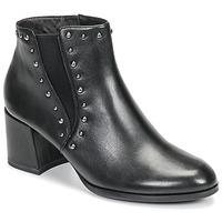 Shoes Women Ankle boots Tamaris LOUZI Black