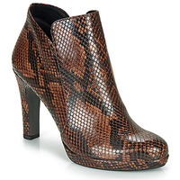 Shoes Women Ankle boots Tamaris LYCORIS Brown / Python
